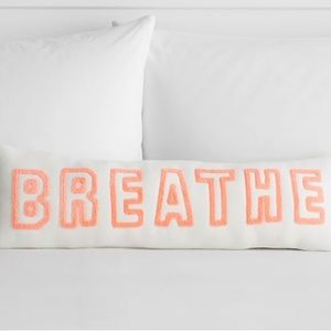 NWT BREATHE Pillow from Lululemon for Pottery Barn